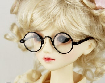 New fashion Dolls Glasses fit 1/3 BJD SD Super Dollfie  Black