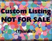 Moogin - custom listing