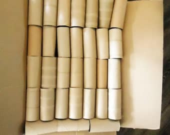 Lot of 235 Clean Crafting Toilet Paper and Paper Towel rolls