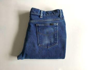 Vintage Men's 70's Sears Jeans, Straight Leg (W36 x L29)