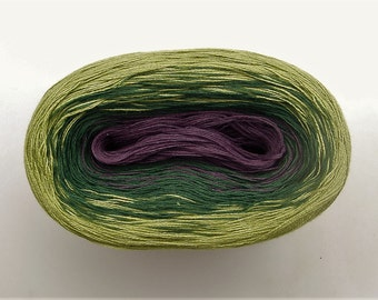 GRAPEVINE II - Color Changing Cotton yarn - 480 yards/100 gr - Fingering Weight