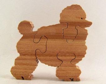Poodle Wood Puzzle