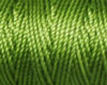 Moss Tex 400 C Lon Beading Cord, 39 yard spool C Lon Beading Cord, Kumihimo Beading Cord