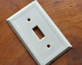 Vintage Light Switch Cover.