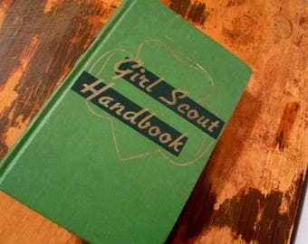 Vintage Girl Scout Handbook 1951