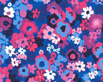 Robert Kaufman - Laurel Canyon - Mod Floral - Jewel - Fabric by the Yard SRK16913201