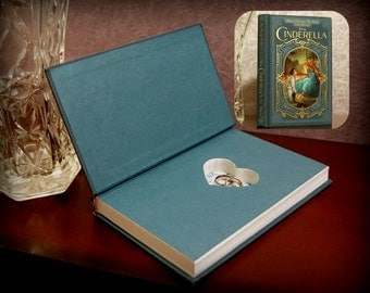 Hollow Book Safe with Heart (Cinderella)