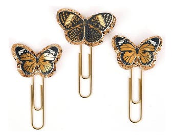 Take Flight Butterfly My Prima Planner Clips (593636) Planner Supplies