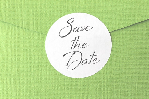 Save The Date, Stickers, Wedding Invitation, Labels