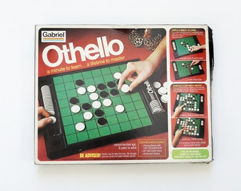 Vintage 1970s Game / Gabriel Othello Board Game 1977 Complete VGC / A Minute to Learn... A Lifetime to Master