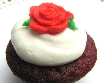 Red Velvet Mini Cupcakes 12pcs.- 1 dozen