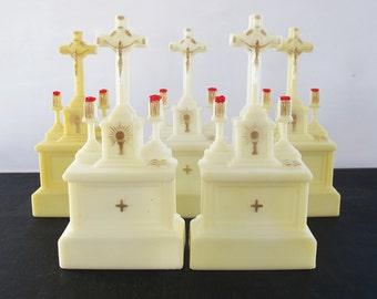Hard Plastic Altars 1950s