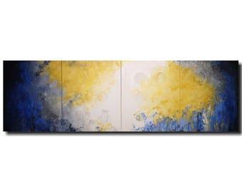 Large original oil painting wall art Abstract Paintings  jmjartstudio  painting braille artwork