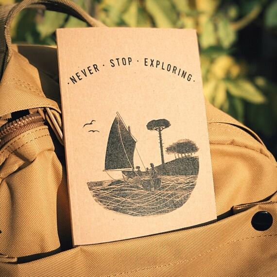 Sail Away - A6 Notebook / Sketchbook / Journal
