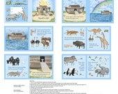 Noah's Ark Book Panel