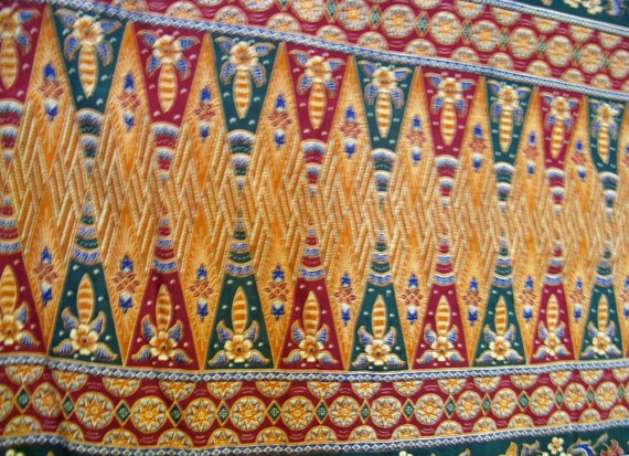 Basket Weaving Osi : Batik original thailand cotton fabric aladdin hemmed