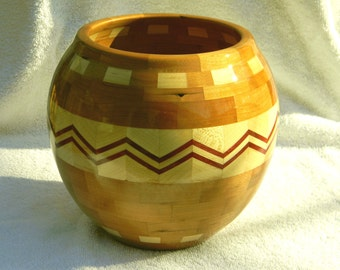 Segmented Wood Bowl #226