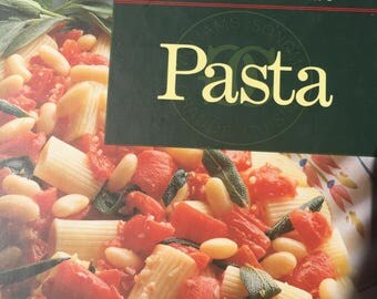 Pasta - William Sonoma Kitchen Library - Copyright 1992-Reprint 1994 - Great Condition - Near New Recipe Cook Book
