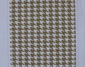 Retired Stampin Up! Houndstooth Textured Impressions Embossing Folder, Excellent Condition, Hand made cards, tags, paper crafts