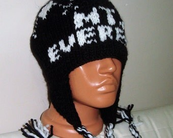 EVEREST - Mount Everest - Mt. Everest - Everest Hat - Mount Everest Hat - Mt. Everest Hat - Personalized Knit Hat for Womens Gift