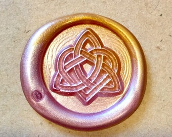 Love Celtic Knot Wax Seal Stamp