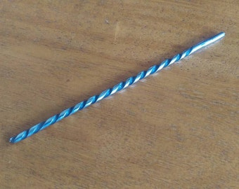 Custom blockhead drill bit for sideshow and variety act performers