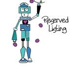 Reserved Listing for JoAnn