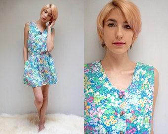 Summer SunDress  //  Calico Cotton SunDress  //  Floral Dress  //  PARiS in SPRiNG
