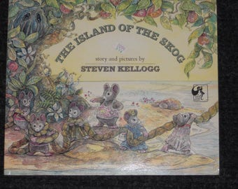 The Island of The Skog-Story and Pictures by Steven Kellogg-1973