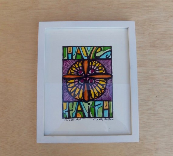 Have Faith Original Watercolor  - UNFRAMED