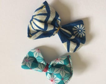 Pattern hairbow clip