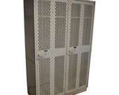 ON SALE Hockey Gym Locker Unit of Steel with Two Wide, Deep Compartments