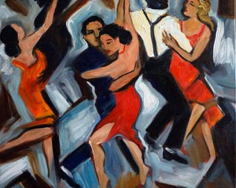 The Tango 2, limited edition giclee