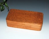 Handmade Wooden Box With a Tray - Lacewood on Cherry by BurlWoodBox - Jewelry Box, Stash Box, Small Jewelry Box, Wooden Jewelry Box, Boxes