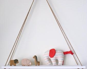 Elephant -- elephant softie -- elephant toy -- baby gift -- new baby gift -- baby boy -- baby boy gift -- elephant nursery -- red elephants