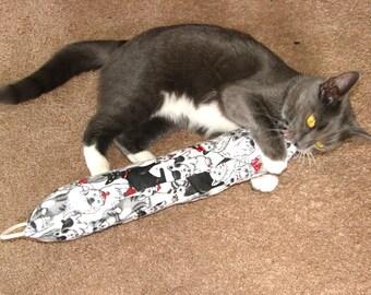 Big 15 inch Catnip Roll Cat Toy, Organic Wild Catnip