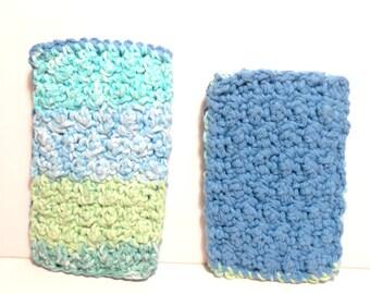 Crocheted Sponges, Scrubber, Sponge, Bath Sponge, Kitchen Sponge, Sugar n Cream Yarn, Scrubbie, Cotton Yarn