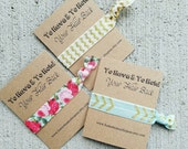 To Have & To Hold Your Hair Back.  Bridal Party or Shower Favors.