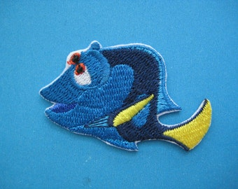 Iron-on embroidered Patch Dory 2.25 inch