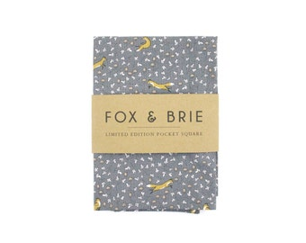Fox & Flora Pocket Square