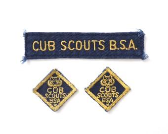 Cub Scouts BSA Patch Set