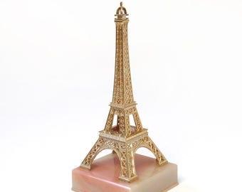 Vintage Eiffel Tower French Souvenir Paris France