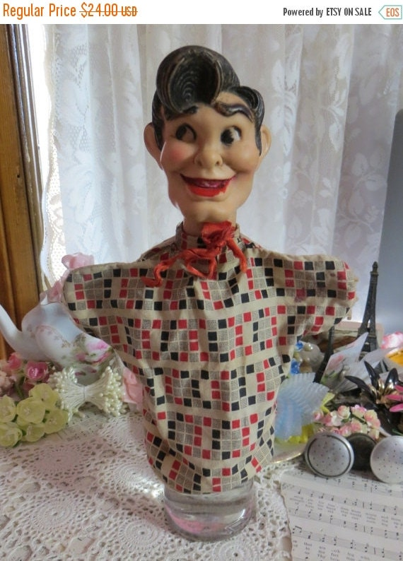 ON SALE Little Abner-Lil Abner Dogpatch Comics Hand Puppet-Original