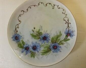 Lorenz Hutschen Reuther Hand Painted Plate