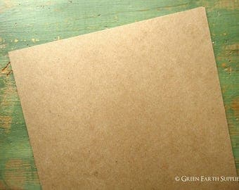 "100 11""x14"" THICK 50 pt chipboard sheets (279x355 mm) kraft brown chipboard, recycled, 50pt (.050"") 1mm thick, for protecting 11x14 prints"