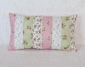 Pink Tea Party Quilted Pillow