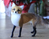 Balance due for jornie1, needle felted red fox