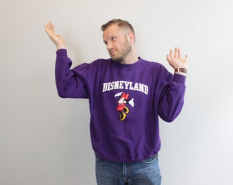 Vintage Minnie Mouse Disneyland Sweatshirt