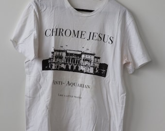 SALE 50% OFF Chrome Jesus Official T-shirt Cold Cave American Nightmare