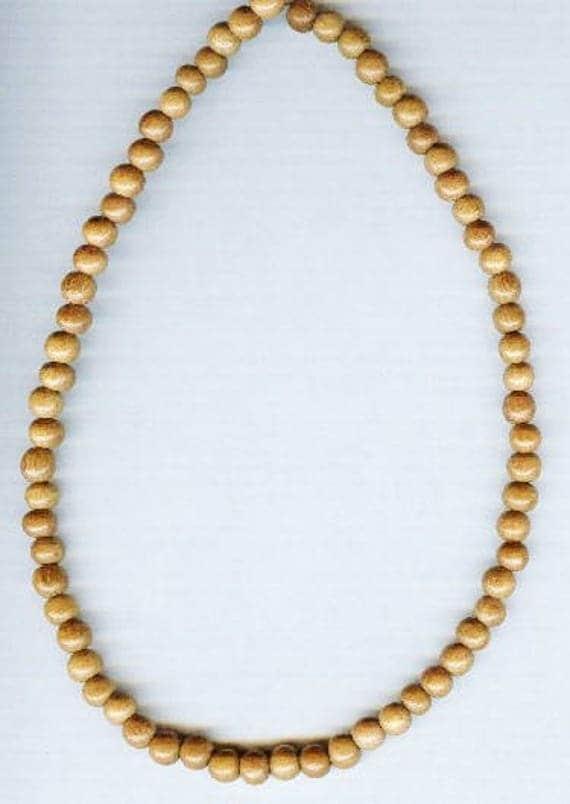 Stunning High Quality Nangka Wood Beaded Bracelet or Necklace